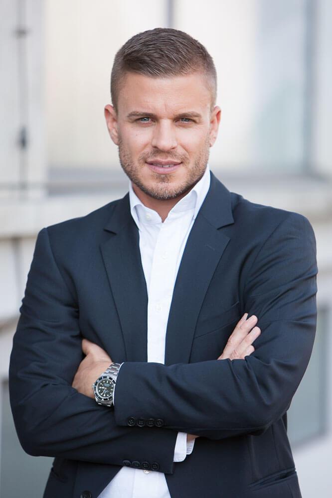 Business Mann Portrait